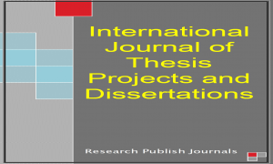 international journal of thesis projects and dissertations